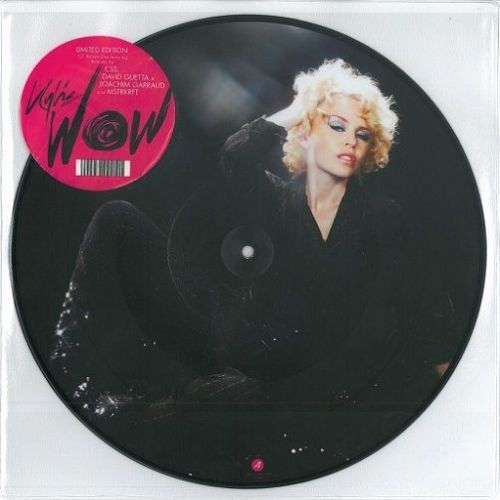 KYLIE MINOGUE Wow Vinyl Record 12 Inch Parlophone 2008 Picture Disc